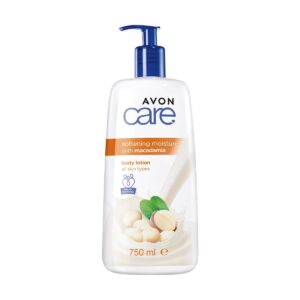 Avon Care Body Lotion 750ml Softening Moisture with Macadamia 1394855