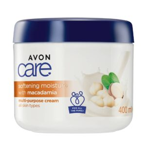 Avon Care Multipurpose Cream 400ml Softening Moisture with Macadamia 1394885