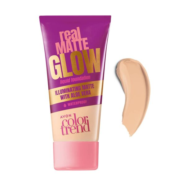 Color Trend Real Glow Iluminating Matte Foundation Alabaster 1385951 25ml