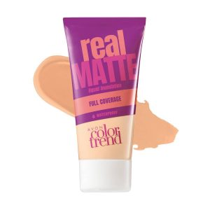 Color Trend Real Matte Liquid Foundation Ivory 1318503 30ml