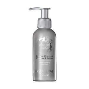 Planet Spa Korean Charcoal Cleanse & Refine Deep Cleansing Face Wash 25795 150ml