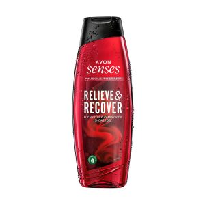 Senses Shower Gel 500ml Muscle Therapy Relieve & Recover 1437468