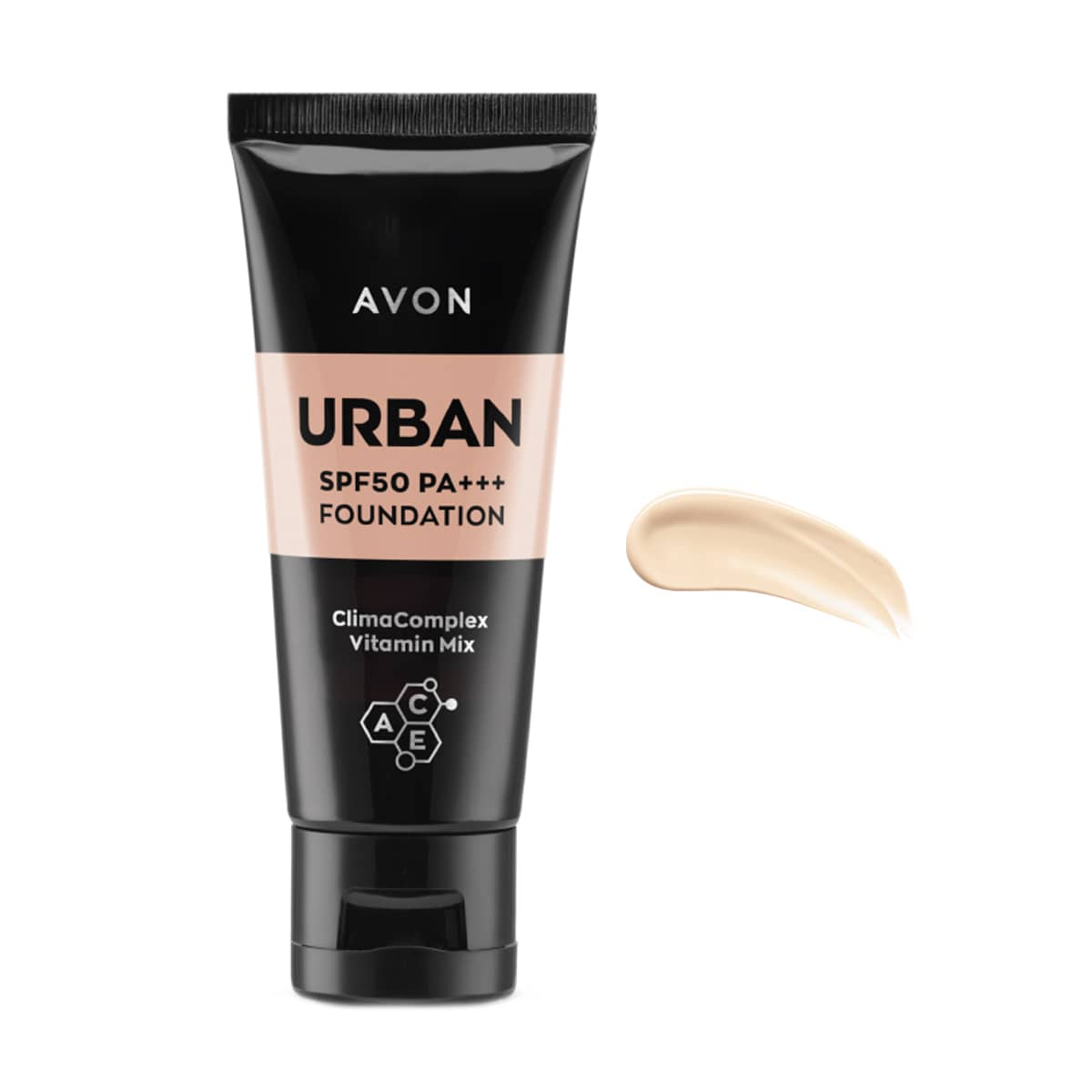 Urban Defence SPF50 PA+++ Foundation Light 1381326 30ml
